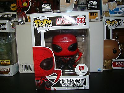 Funko Pop Marvel Superior Spider-Man Walgreens Exclusive Vhtf--