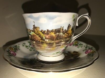 Vintage Royal Albert Bone China Old Country Roses Teacup & Saucer