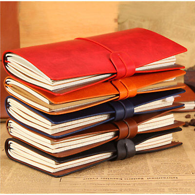 AU Personalised Notebook Journal Diary Engraved Refillable Gift Retro Style NEW