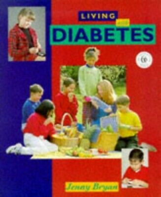 Diabetes (Living With) by Bryan, Jenny Hardback Book The Cheap Fast Free Post