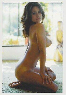 Postcard Pinup Risque Nude Stunning Girl Extremely Rare Photo Post Card 9434