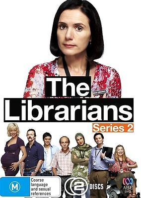 W1 BRAND NEW SEALED The Librarians : Series 2 (DVD, 2009, 2-Disc Set)
