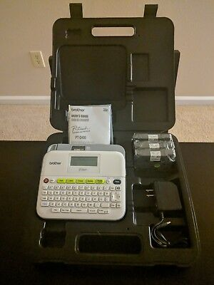 Brother P-Touch PT-D400VP Versatile Label Maker with Adapter and Carrying Case