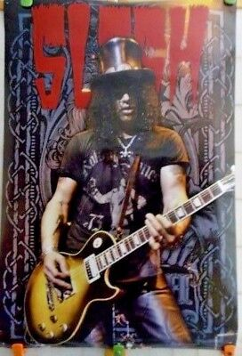 """Slash"" 2008 Rock Express 24 inch x 36 inch Velvet Revolver Poster by Aquarius"
