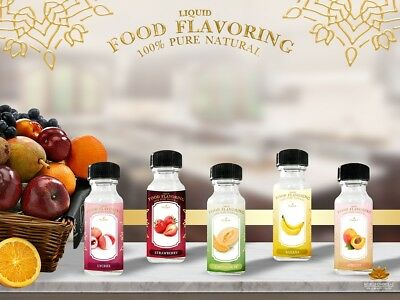 Nuengelite 100% Natural Liquid Food Flavoring for cooking and baking 25 ml