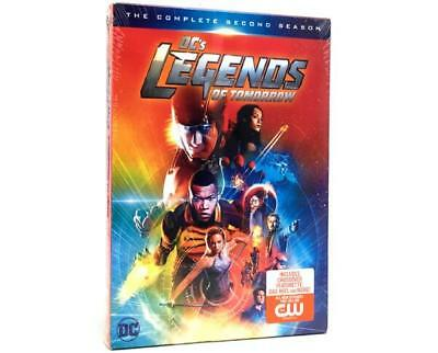 DC's Legends of Tomorrow: Season Two (DVD, 2017, 4-Disc Set) New Sealed