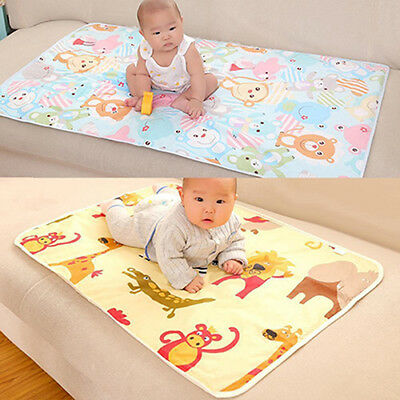 AU_ Baby Infant Diaper Nappy Urine Mat Kid Waterproof Bedding Changing Cover Pad