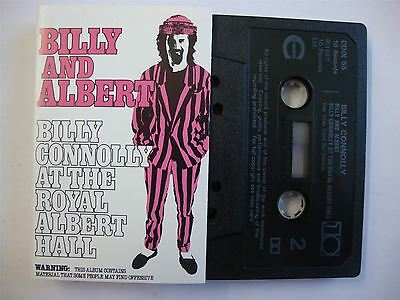 Billy Connolly - Live! - Billy And Albert - Cassette Tape
