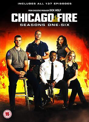 Chicago Fire The Complete Seasons 1-6 Dvd Boxset  137 Episodes 36 Disc Region 4