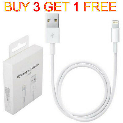 Genuine ORIGINAL Apple iPhone 6 6S 7 Plus SE 5 5S Lightning To USB Charger Cable