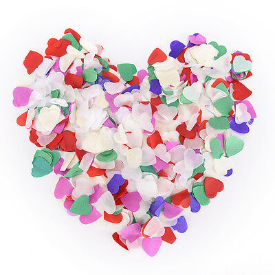 1000 Pcs/lot Heart Confetti Love Wedding Party Romantic Table Decoration OA