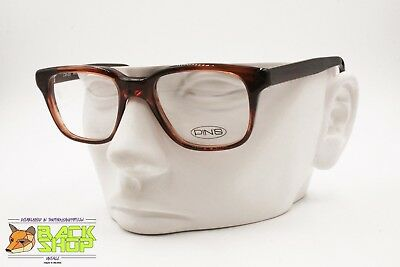 PIN'S Made in Italy, Classic brown wayfarer frame glasses acetate & metal, New O