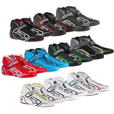 Alpinestars Tech 1-Z 1Z Leather Race Boots Shoes Fireproof Nomex FIA Approved