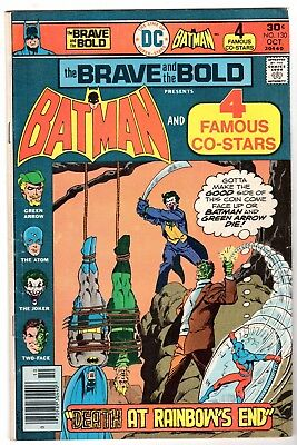 Brave and Bold #130 with Batman Green Arrow, Atom, Joker & Two Face, Fine Cond