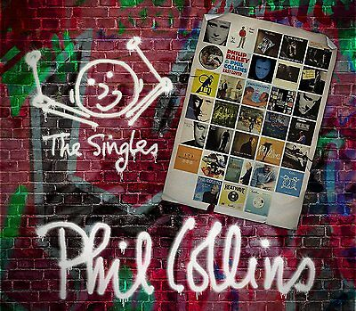 PHIL COLLINS 'THE SINGLES' (Best Of) 3 CD SET (2016)