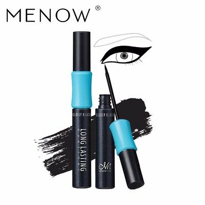 MENOW Brand Liquid Eyeliner Waterproof Lasting No Blooming Makeup Beauty for Eye