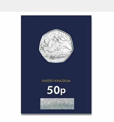 2018 UK The Snowman CERTIFIED BU 50p UNC -  POST FREE