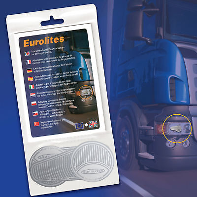 Eurolites Truck Lorry Headlamp Headlight Beam Deflectors Converters Adaptors