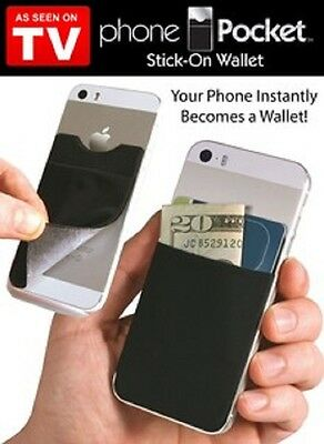 Phone Pocket with RFID blocking technology - 2-Pack - As Seen On TV