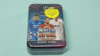 Topps Match Attax Champions League 2018/2019 Tin Box mit 15 Rising Stars Cards