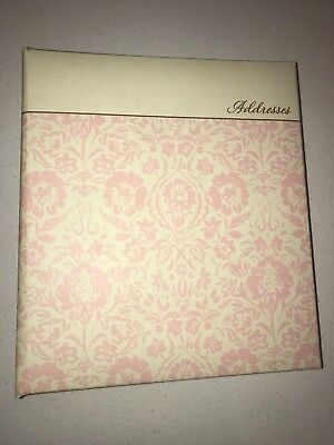 Hallmark Ring Bound Address Book - Fun Flowers