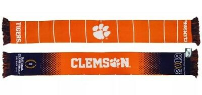 Clemson Tigers 2019 National Championship Scarf CFP Scarf
