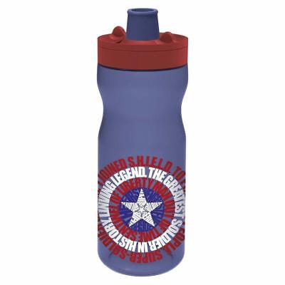 Botella Sport Con Bloqueo 640 Ml Marvel Young Adult