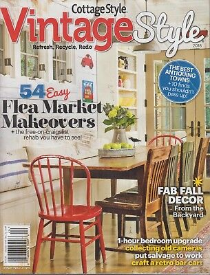 COUNTRY COLLECTIBLE COTTAGE Style Magazine #111 Athlon ...
