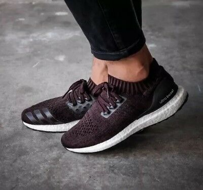 huge discount 58721 29641 $180 MEN'S ADIDAS UltraBOOST UNCAGED running 13 ultra Boost burgundy black  r1 r2