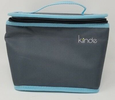 Kiinde Breast Milk Cooler Bag Portable Insulated Storage Baby Feeding 2 Ice pack
