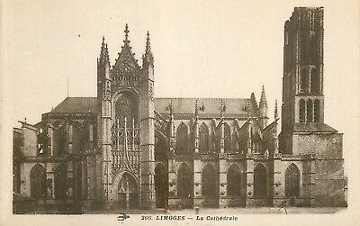 Cp Limoges Cathedrale Zz 8648