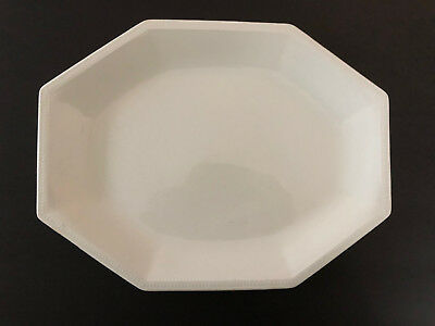 """Johnson Brothers HERITAGE WHITE England A05221 - 12"""" OVAL SERVING PLATTER"""