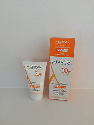 Aderma Fluide 50+ Px Normales 40Ml