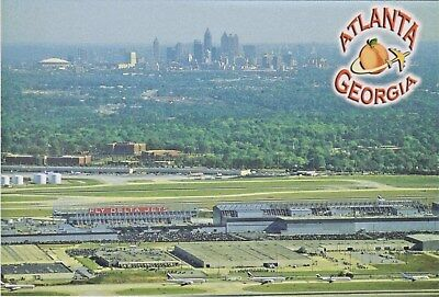 Hartsfield–Jackson Atlanta International Airport with Atlanta and Georgia Dome
