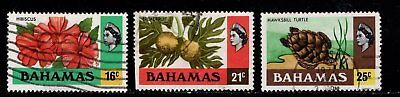 Item No. A6242 – Bahamas – Scott # 398-400 - Used