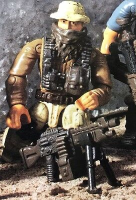 Call of Duty COD Mega Bloks SPECIAL OPS TASK FORCE DWB25  URBAN SOLDIER Lot #2