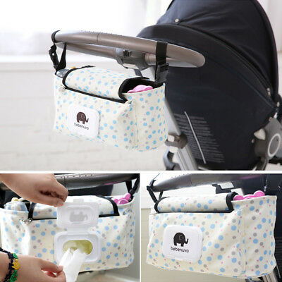 UK Pram Buggy Pushchair Cup Baby Bottle Food Holder Storage Stroller Organizer