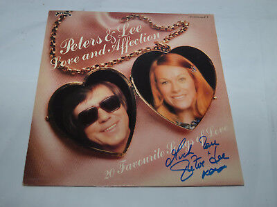 """✔️💿✒️ SIGNED  Peters & Lee – Love And Affection VINYL 12"""" LP VG/VG 1979"""