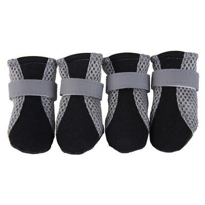 Pet Dog Shoes Boots Reflective No Slip Dog Shoe Booties For Teddy Dogs Durable