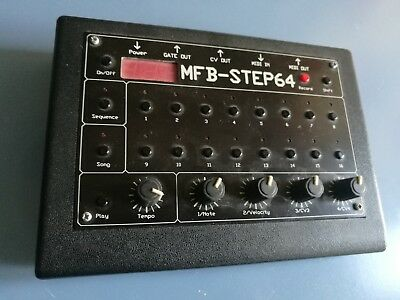 MFB - STEP64 Sequencer Secuenciador Fricke MIDI Gate/CV