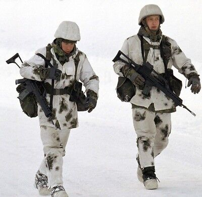 """Rus Army WINTER Camouflage suit """"Klyaksa"""" all sizes"""