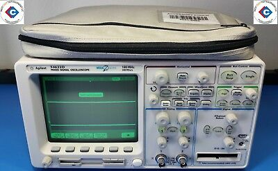 Agilent 54622D Mixed Signal Oscilloscope 100 Mhz 200 Msa/s With Accessories (Use