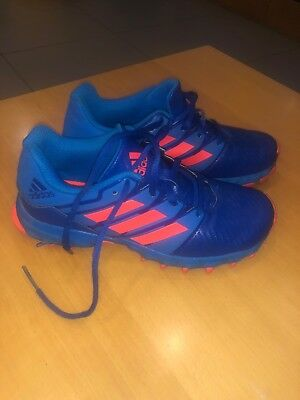 adidas Lux Junior Field Hockey Shoes Kids Boys & Girls Unisex UK 3