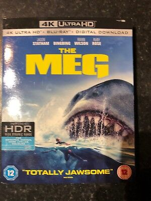 The Meg [2018] (4K Ultra HD) with slip cover NEW & SEALED