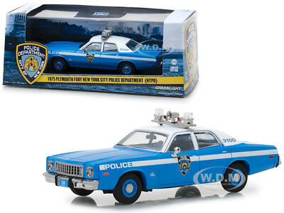1975 Plymouth Fury New York City Police Department (Nypd) 1/43 Greenlight 86535