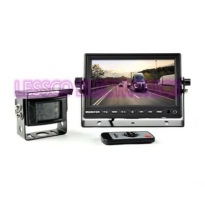 """Brandmotion 9002-7702 Commercial Grade Rear Vision Camera with 7"""" Monitor"""