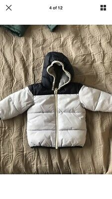 Timberland Baby Boy Winter Jacket 9-12 Months Excellent Condition
