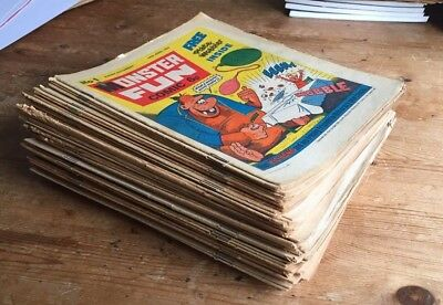 MONSTER FUN 1 to 73 (50 issues, 1975 / 1976)