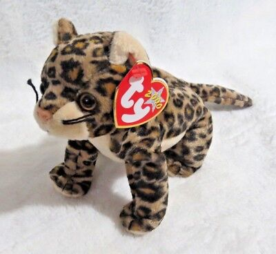 f7cf3ce1c93 TY Beanie Baby - 2000 Sneaky The Leopard 5.5 in - NEW  FREE SHIPPING