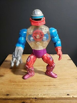 Vintage Roboto Action Figure MOTU Masters of the Universe He-man Mattel